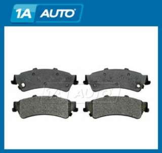 GMC Cadillac Chevy Yukon Avalanche Pickup Truck Brake Pads Rear SEMI