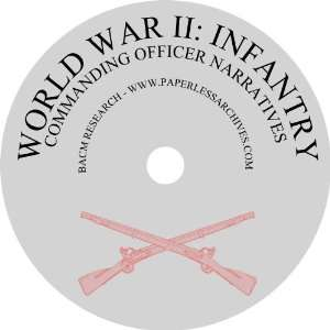 World War II Infantry Commanding Officer Narratives BACM