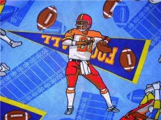 New Football Players Sport Tackle Field Punt Fabric BTY