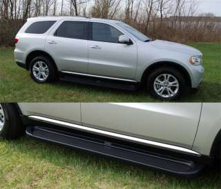 GMC ACADIA Running Boards Steps 67057 Matte Black Trim 2007 2011