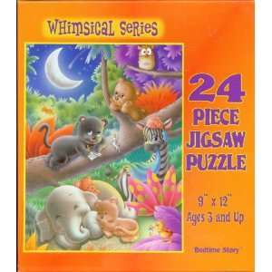 Whimsical Series Bedtime Story 24 Piece Jigsaw Puzzle