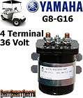 Yamaha G8, G9, G11, G14, G16 Golf Cart, 36 Volt, 4 Term