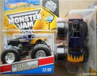 2011 Hot Wheels Monster Jam #52 STORM DAMAGE TRUCK NEW