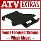 Honda Foreman / Rubicon 2007 2011 Winch Mount