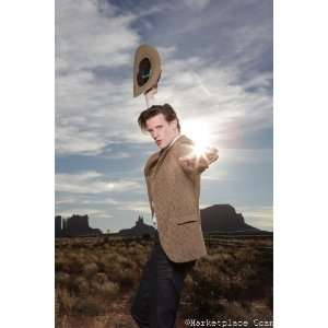 Doctor Who Poster 24x36in Matt Smith Cowboy Hat