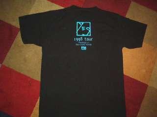 YES CONCERT SHIRT classic prog rock band tour LARGE