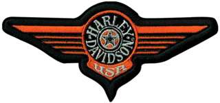 HARLEY DAVIDSON FAT BOY PATCH (XXL) 10 INCH