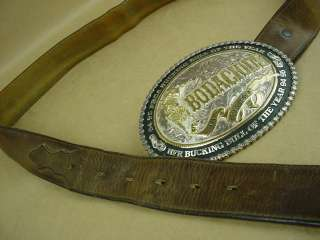 Bodacious Beautiful Big Belt Buckle By Montana Silver