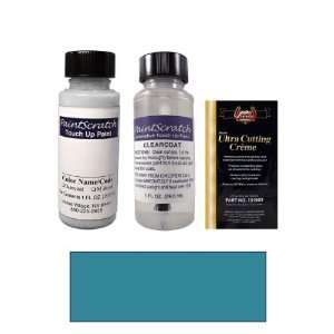 1 Oz. Aquamarine Blue Metallic Paint Bottle Kit for 1989