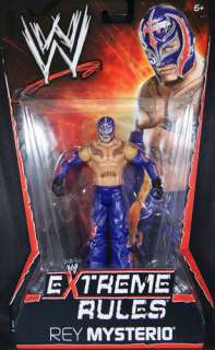 REY MYSTERIO WWE EXTREME RULES PPV 10 TOY ACTION FIGURE