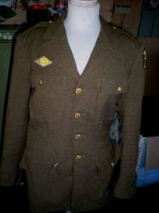 US ARMY WW2 UNIFORM BLOUSE AMPHIBIOUS ENGINEERS 35R