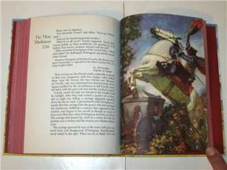 The THREE MUSKETEERS by Dumas 1953 Illustrated Junior Library Edition