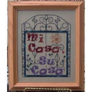 Mi Casa, Su Casa   Cross Stitch Pattern: Arts, Crafts