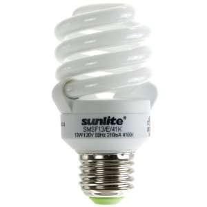 Sunlite SMS13F/E/41K/4PK 13 Watt Super Mini Spiral Energy
