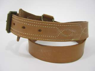 MULBERRY COMPANY Tan Leather Belt Sz 30/75