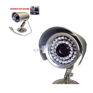 CCTV 8CH Channel Security DVR + 8 Gun Cameras System