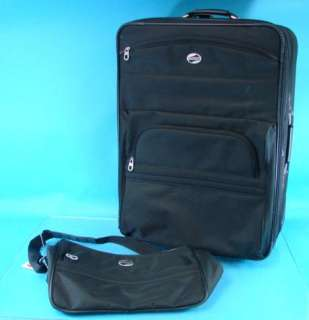 American Tourister 2 piece Luggage Set Roller Bag Handle Carry On