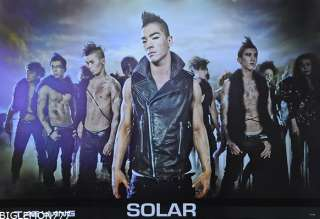 TAE YANG SOLAR BIG BANG KOREAN PROMO Poster 24x35