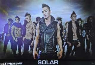 TAE YANG SOLAR BIG BANG KOREAN PROMO Poster 24x35