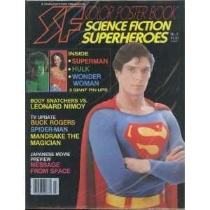Starlog SF Color Poster Book #3, Lynda Carter Wonder Woman