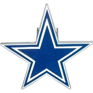 Dallas Cowboys NFL Pewter Logo Trailer Hitch Cover