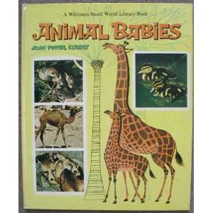 Animal Babies (A Whitman Small World Library Book) Joan
