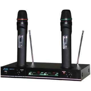 2000 6112 VHF Dual Rechargeable Wireless Microphone System