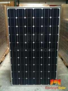 10 Sharp 240w Mono Solar Panels with 60 Cells, B grade, UL CEC, NU