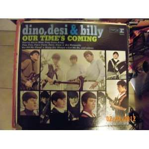 Desi & Billy Our Times Coming (Vinyl record) Dino Desi & Billy Music
