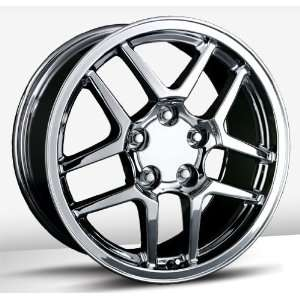 17x9 Trade Union Z06 Replica (Chrome) Wheels/Rims 5x120.7