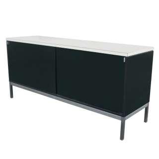 5ft Vintage Art Metal Inc Knoll Credenza Cabinet