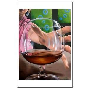 Unframed Print Drinking Mini Poster Print by CafePress