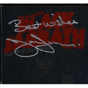 Symptom Of The Universe   Autographed Black Sabbath Music