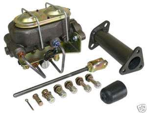 1953 62 CHEVY CORVETTE DUAL MASTER CYLINDER ADAPTER KIT