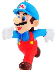 Takara New Super Mario Bros Wii Key Chain Ice Mario