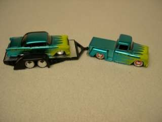 Jada Toys 164 Scale 55 Chevy StepSide Tow Truck 55 Chevy Bel Air