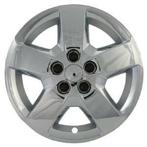of Four Replica 16 inch Chrome Chevy Malibu HHR Hubcaps   Wheel Covers