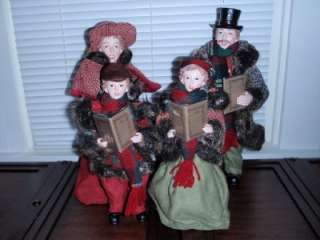 Dickens Family Carolers Set of 4 by Valerie Parr Hill
