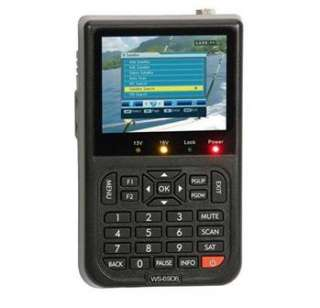 New Version Satlink WS 6906 DVB S FTA Digital Satellite Finder Meter