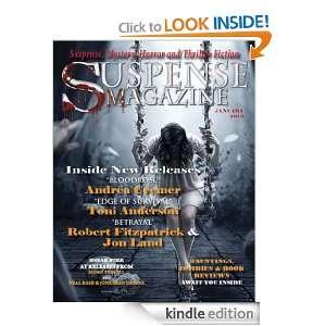 Suspense Magazine January 2012: Donald Allen Kirch, Andrea Cremer, Jon
