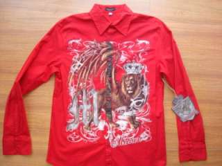 MICHAEL JACKSON THIS IS IT SHIRT RED MEN NEW BY MISSION