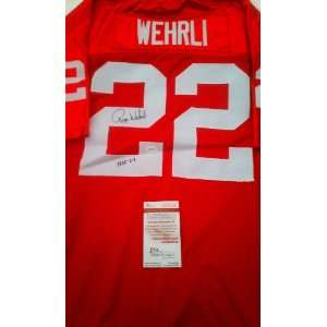 Roger Wehrli Signed St. Louis Cardinals Jersey Everything