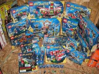 Lego ATLANTIS Series & ALL rare sets + 7978 7984 7985 8060 8061