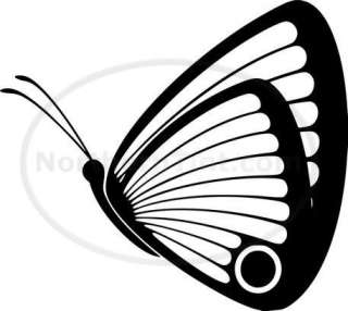 Tribal Butterfly Car Decal Window Sticker Wall Art #184