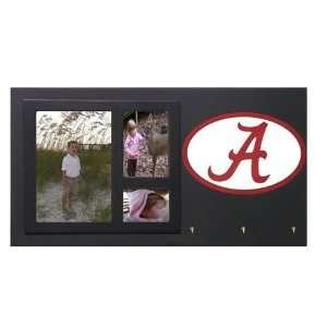 Alabama Crimson Tide Bama Picture Frame Key Holder Sign