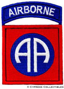82nd AIRBORNE DIVISION PATCH SSI AA ALL AMERICAN ARMY