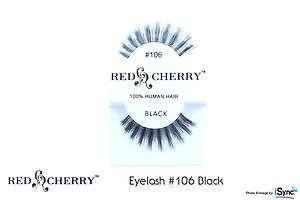 EYELASH #106 (LOT OF 10)   100% Human Hair, High Quality Eyelash