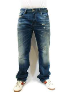 NWT DIESEL Made in Italy Mens Vintage Straight Jeans Larkee   Relaxed
