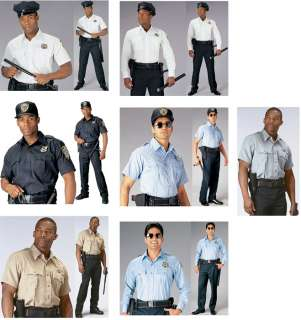 Genuine Police & Security Issue Uniform Law Work Shirt
