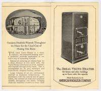 American Radiator Ideal Heater Heating 1927 Brochure